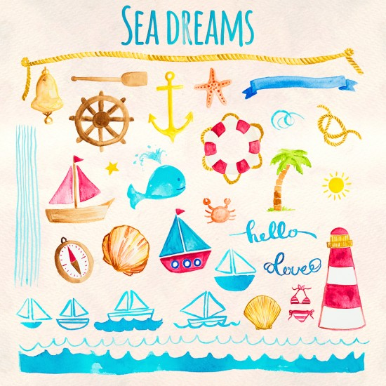 Sea Dreams Elements