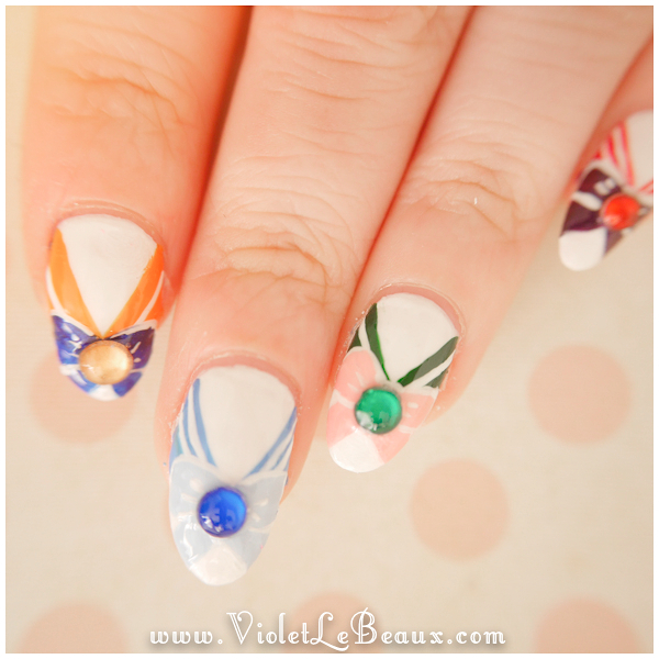 013-Sailor-Moon-Nail-Art